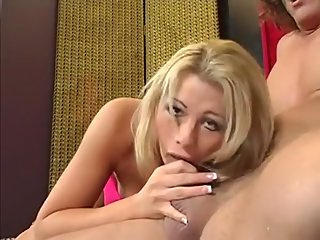 big tits,blonde,blowjob