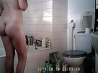 hairy,shower,
