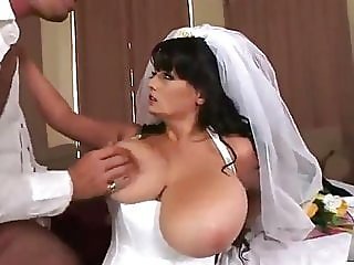 bride,cum on tits,titty fucking